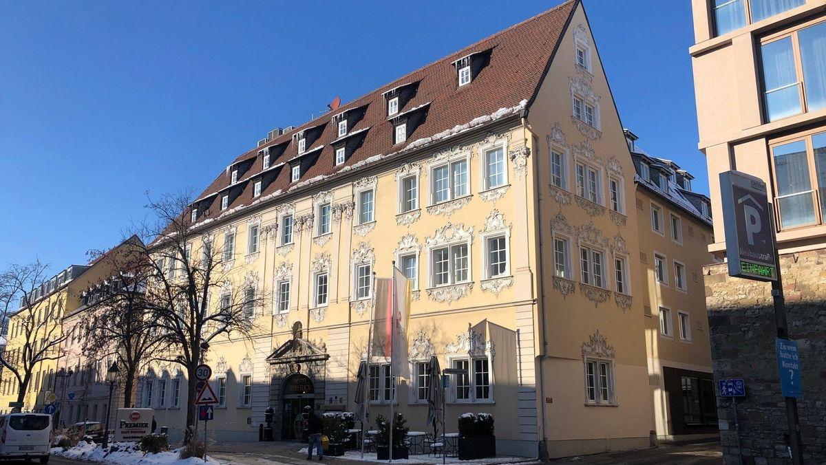 """Das Hotel """"Rebstock"""" in Würzburg"""
