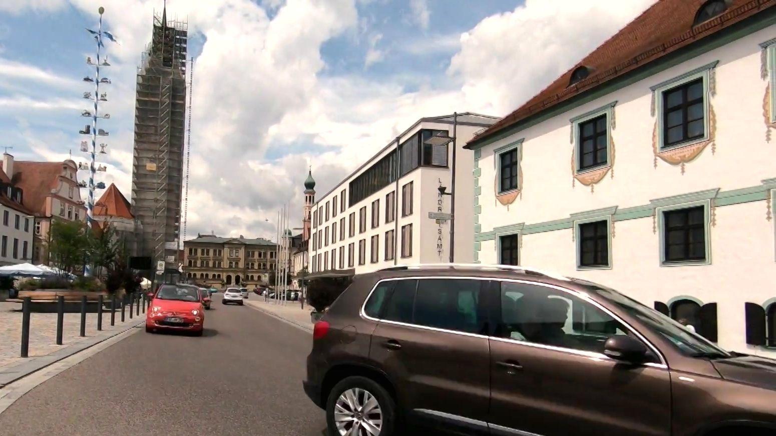 Autos am autofreien Tag im Landkreis Pfaffenhofen