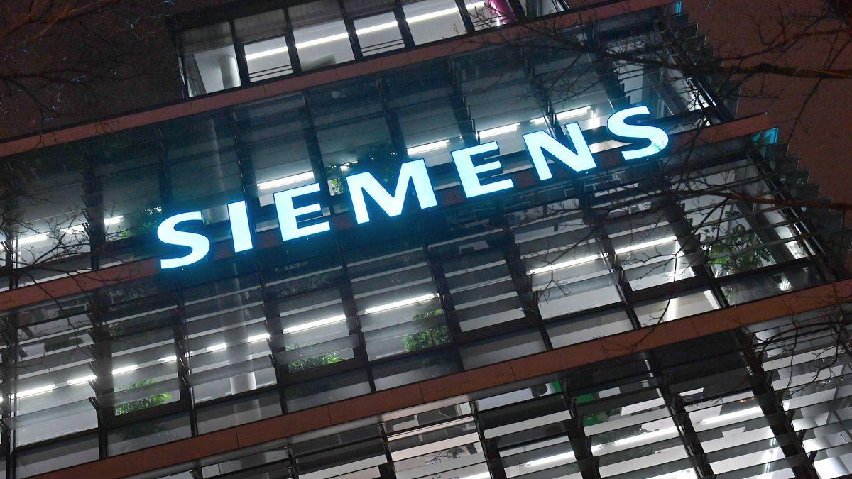 Die Siemens-Zentrale bei München.