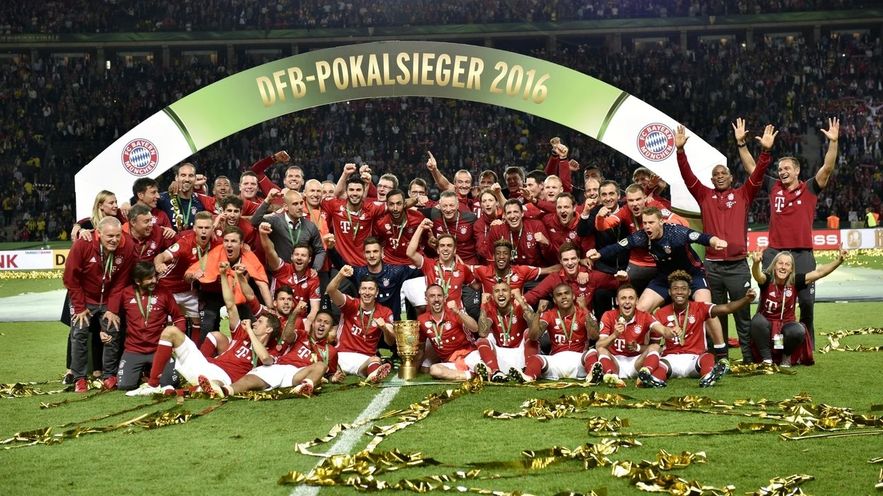 DFB-Pokalsieger 2016: FC Bayern München