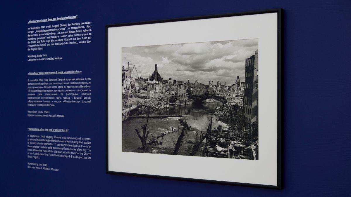 Fotografie vom kriegszerstörten Nürnberg von Ewgenij Chaldej