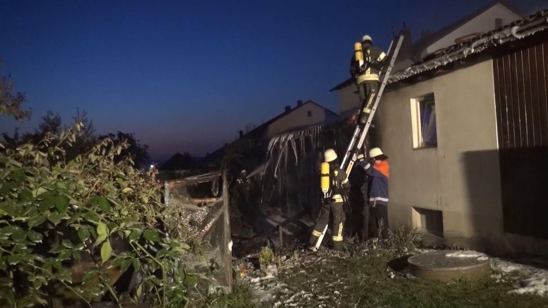 Viertes Feuer in Neunkirchen: War es Brandstiftung?
