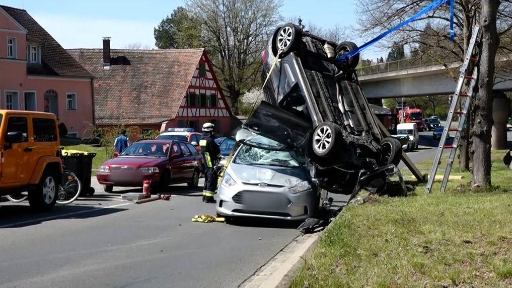 Unfall in Nürnberg
