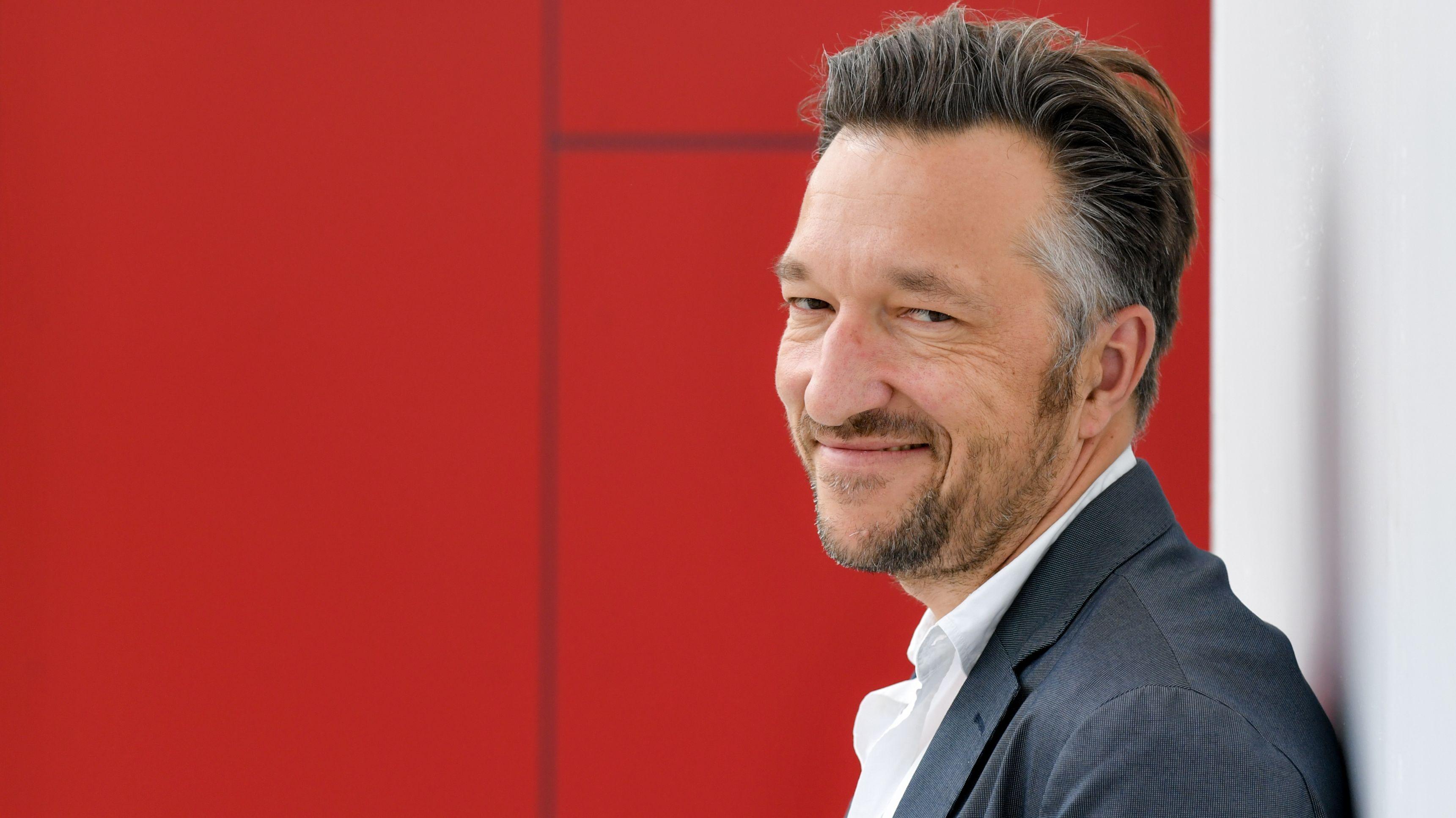 Lukas Bärfuss 2019 auf der Frankfurter Buchmesse
