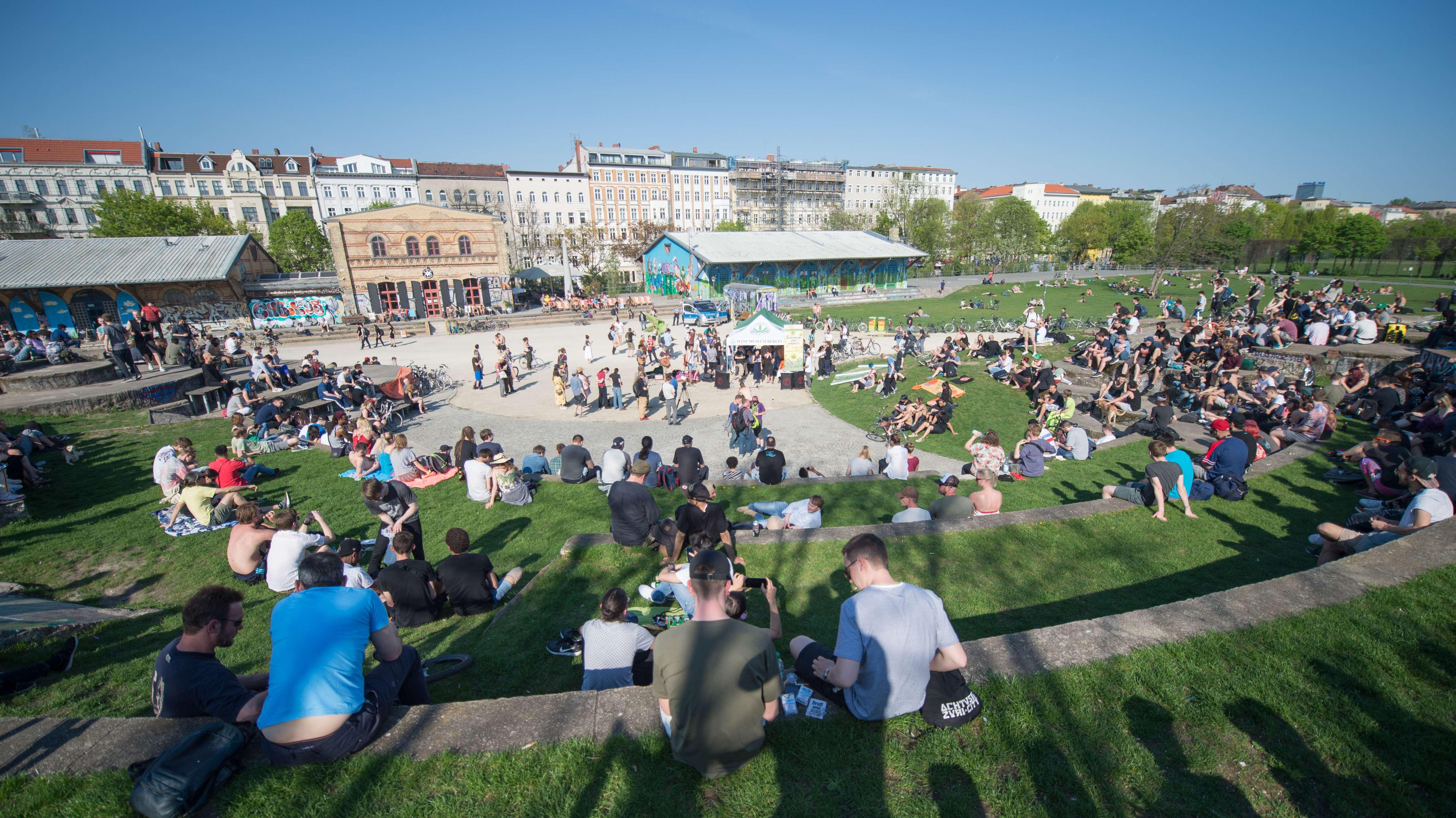 Der Görlitzer Park in Berlin