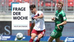 1. FC Nürnberg - Greuther Fürth | Bild:Kollage BR (imago images/ Jan Huebener)