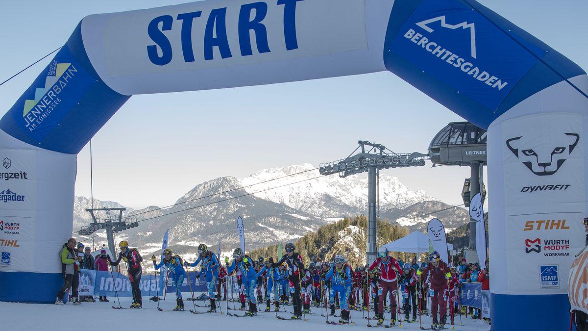 Die Weltcup Sportanlagen in Berchtesgaden erwarten diesmal Sportler mit Behinderung (Foto vom Weltcup am 8./9. Februar 2020).