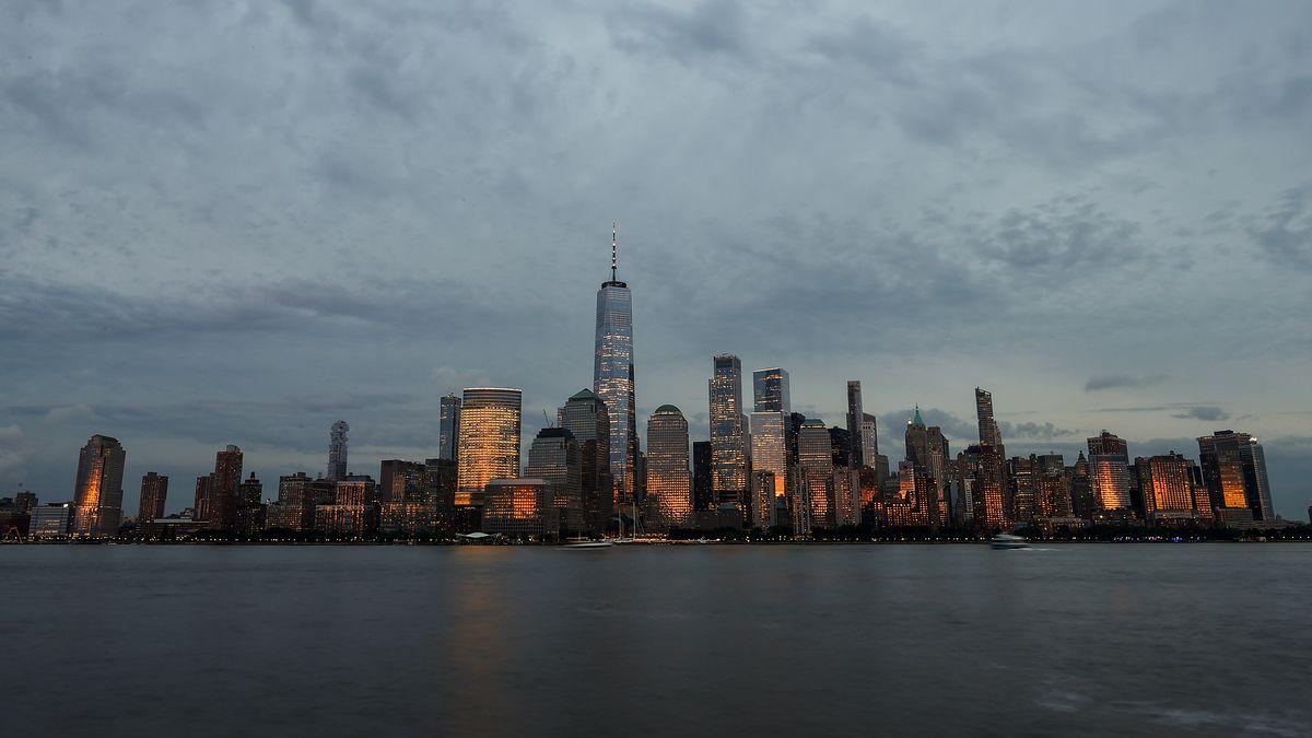 Stadtansicht von New York