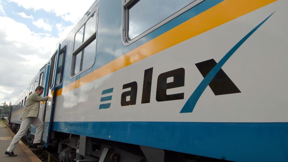 Alex-Zug der Länderbahn