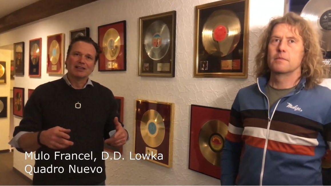 Mulo Francel und D.D. Lowka von der Rosenheimer Musikgruppe