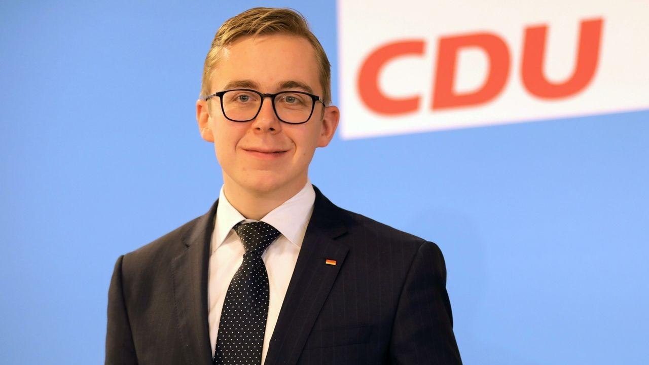 CDU-Bundestagsabgeordneter Philipp Amthor
