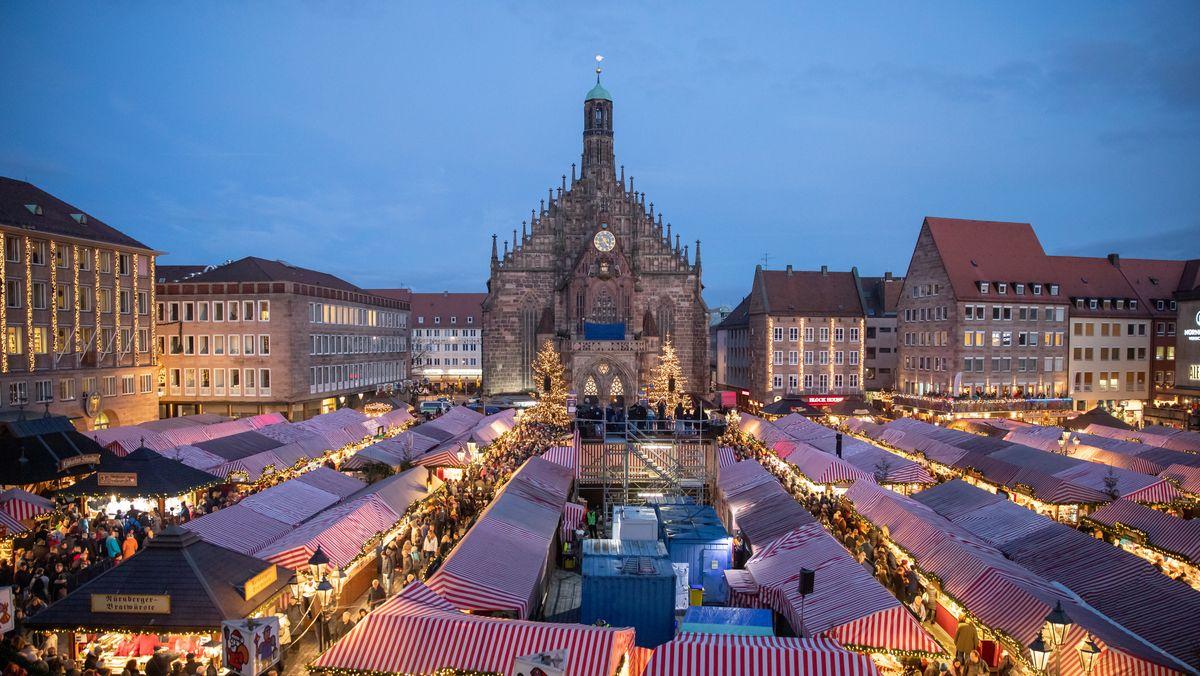 Der Nürnberger Christkindlesmarkt wurde wegen Corona abgesagt