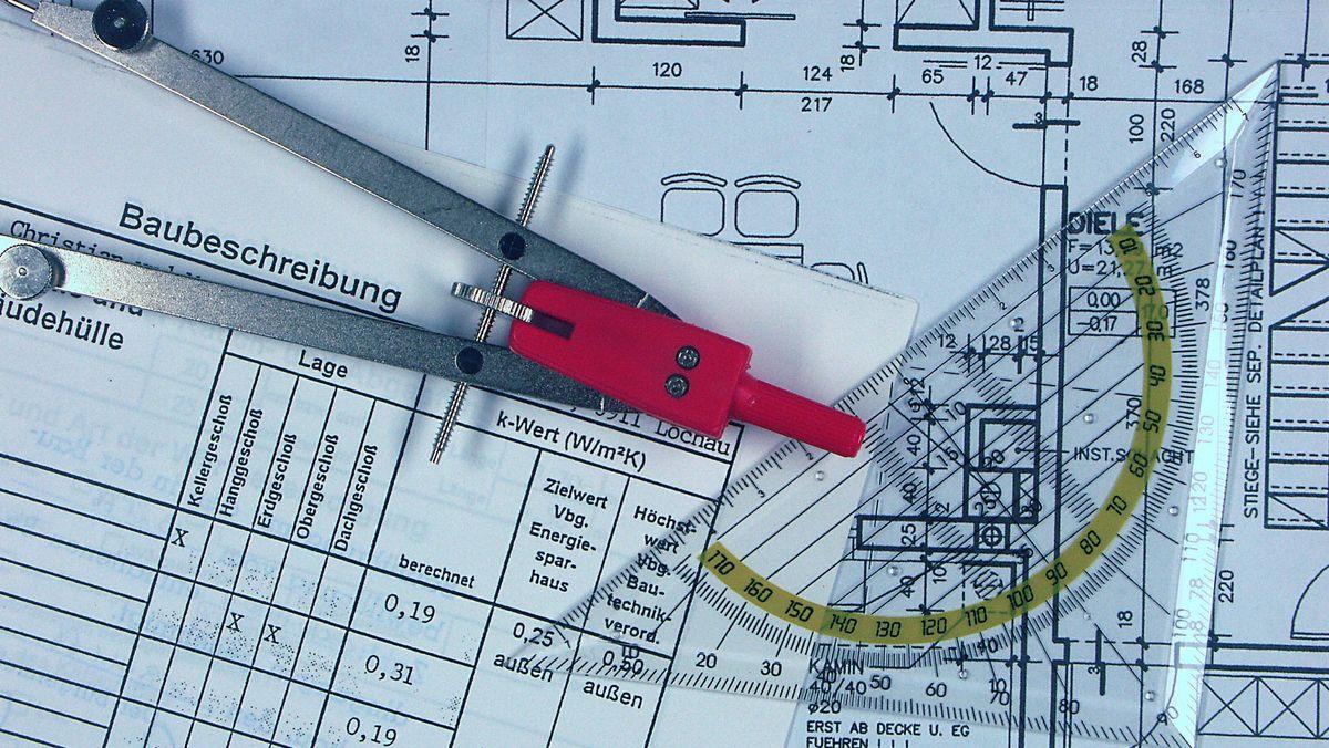 Bauantrag mit Baubeschreibung
