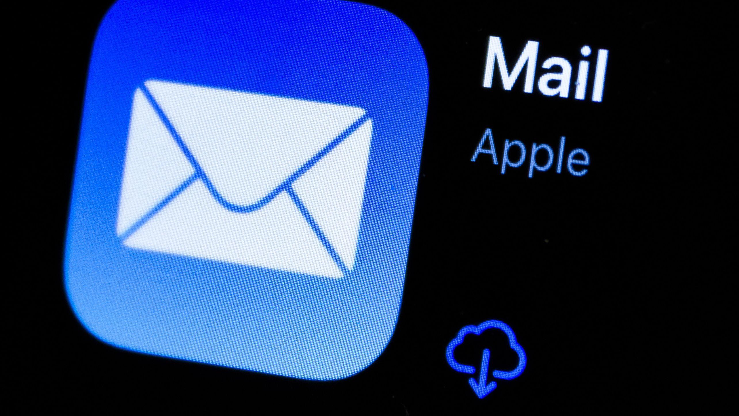 App-Symbol der Apple Mail App