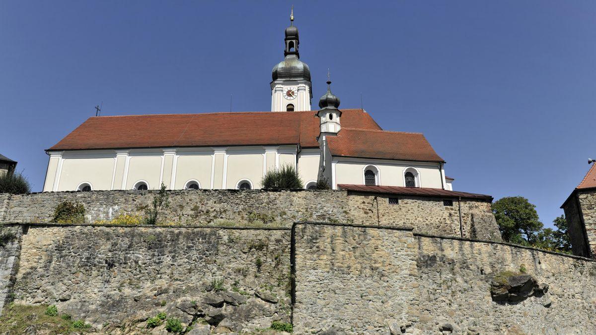 Die Pfarrkirche Mariä Himmelfahrt in Bad Kötzting