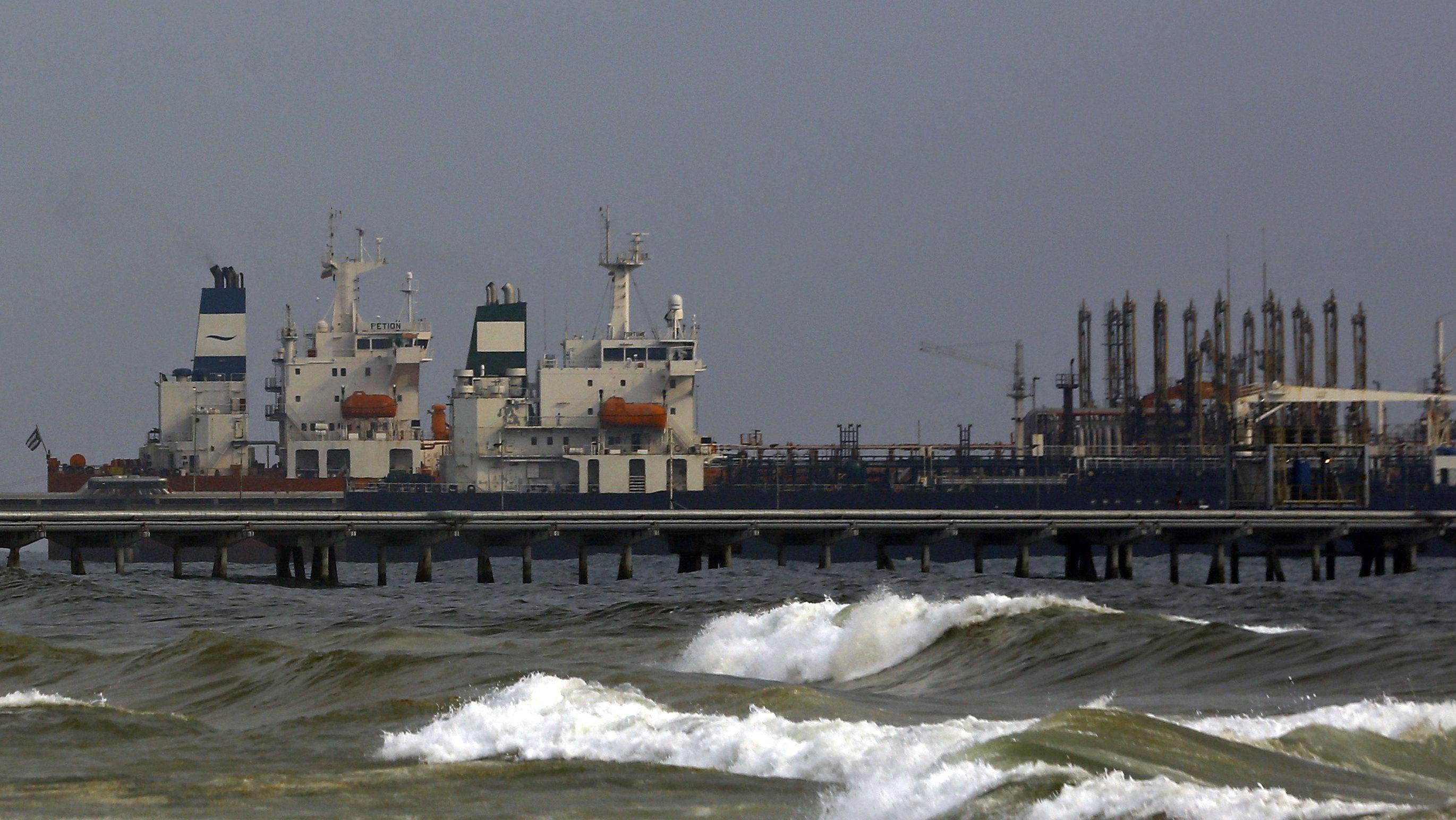 """Erster Iranischer Tanker """"Fortune"""" liegt in Venezuela vor Anker"""