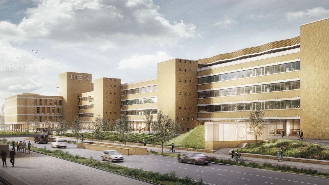 Bauantrag von Gerchgroup für ehemaliges Quelle-Gelände in Nürnberg eingereicht