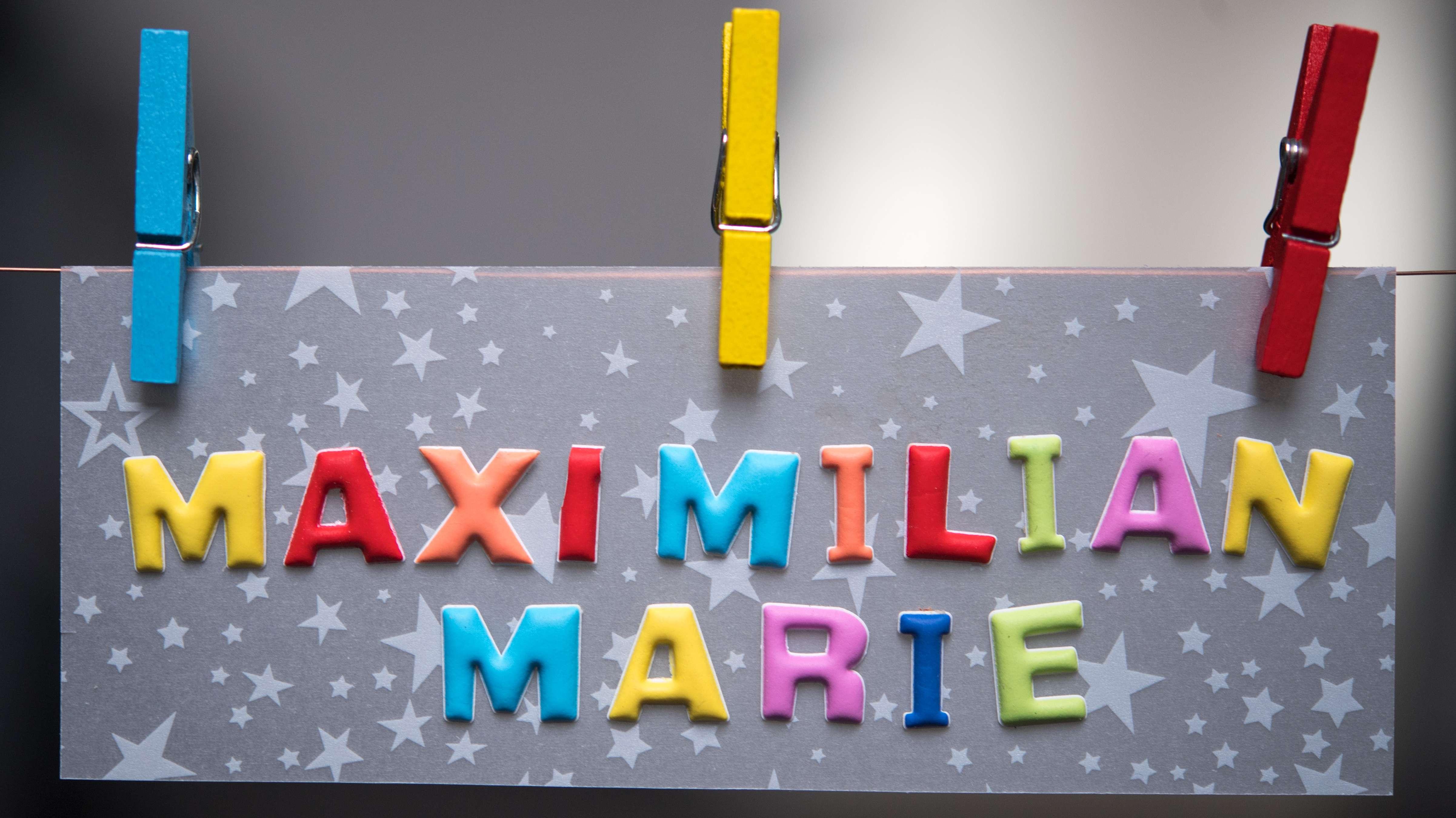 Maximilian und Marie sind die beliebtesten Vornamen 2018 in Bayern