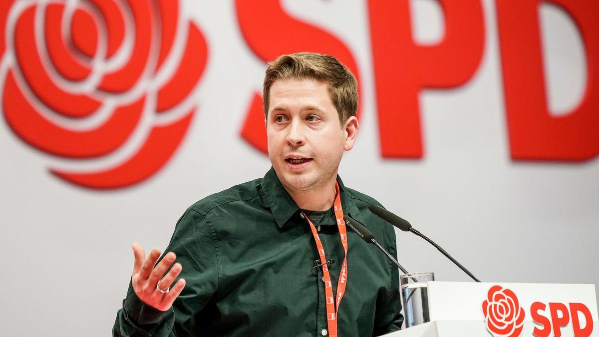 Kühnert beim SPD-Parteitag