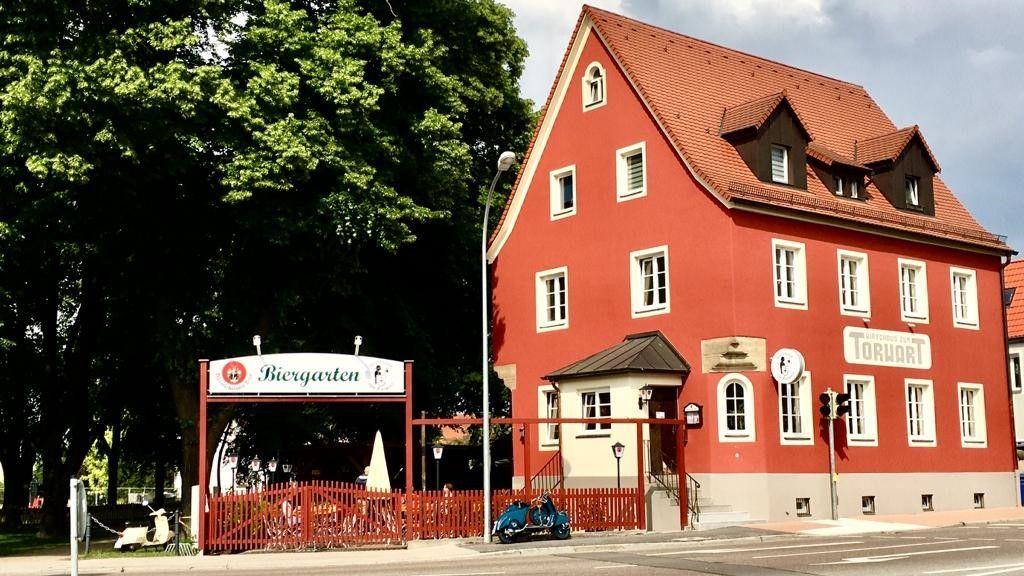 """Auch der Brauereigasthof """"Zum Torwart"""" im mittelfränkischen Weißenburg hat wegen der Corona-Pandemie mit finanziellen Problemen zu kämpfen."""