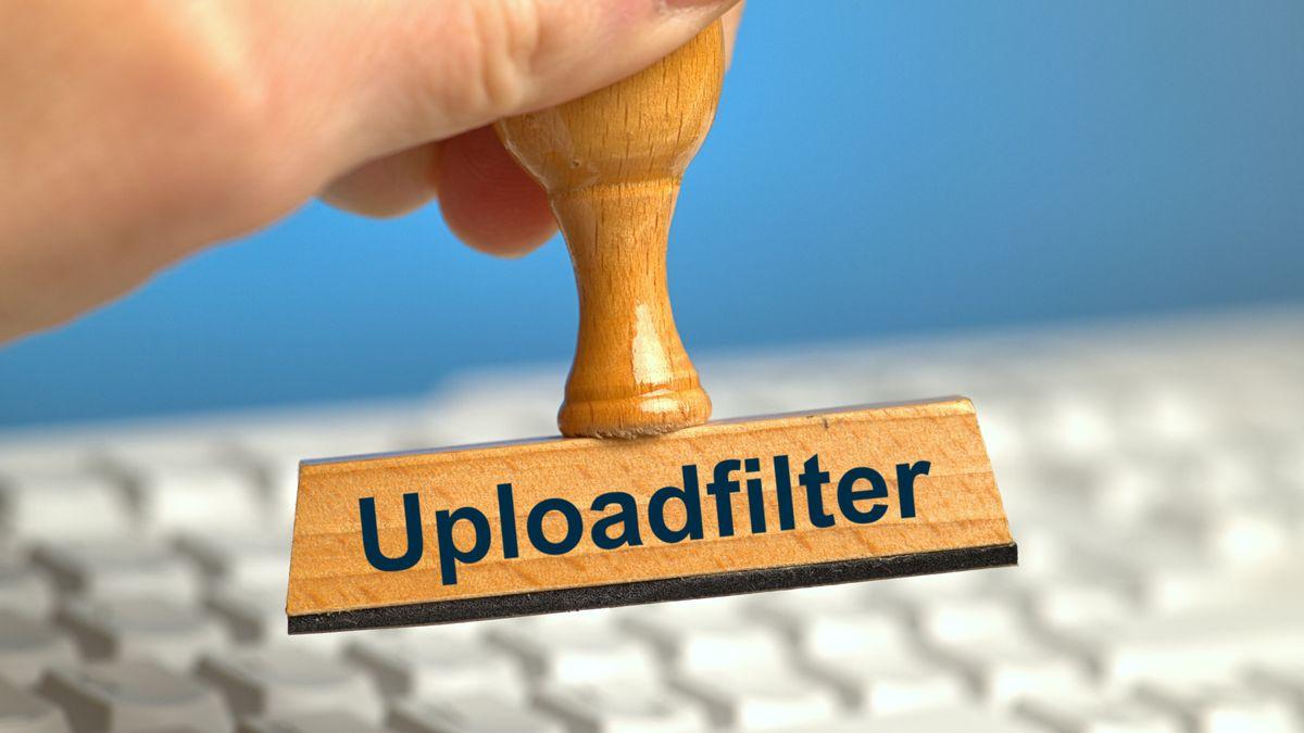 """Stempel """"Upload-Filter"""""""