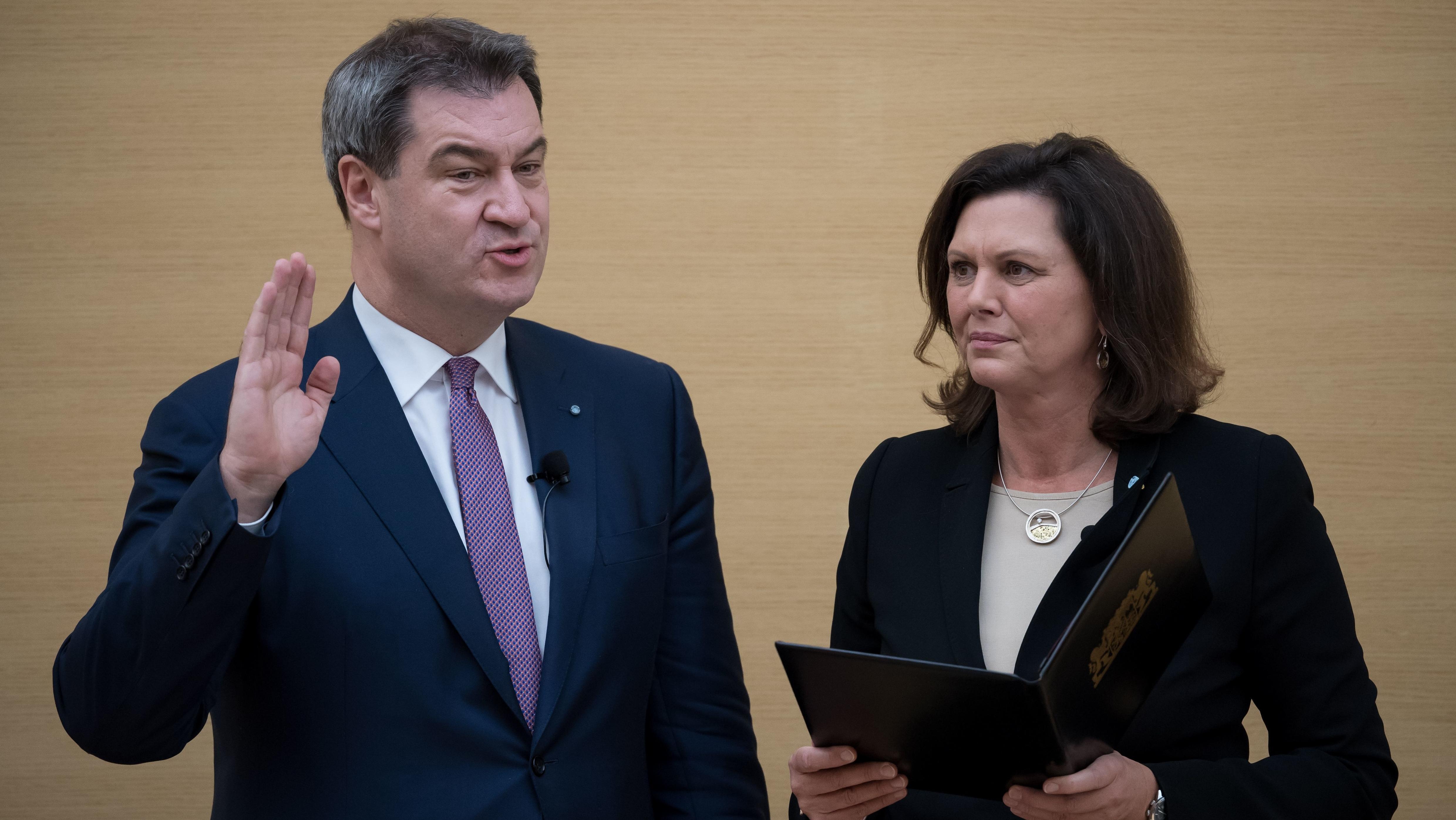 Markus Söder bleibt fünf weitere Jahre bayerischer Ministerpräsident