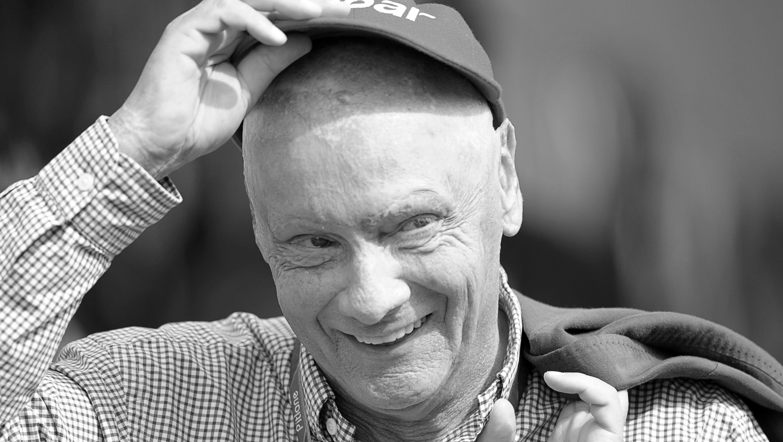 Der frühere österreichische Formel-1-Fahrer Niki Lauda.