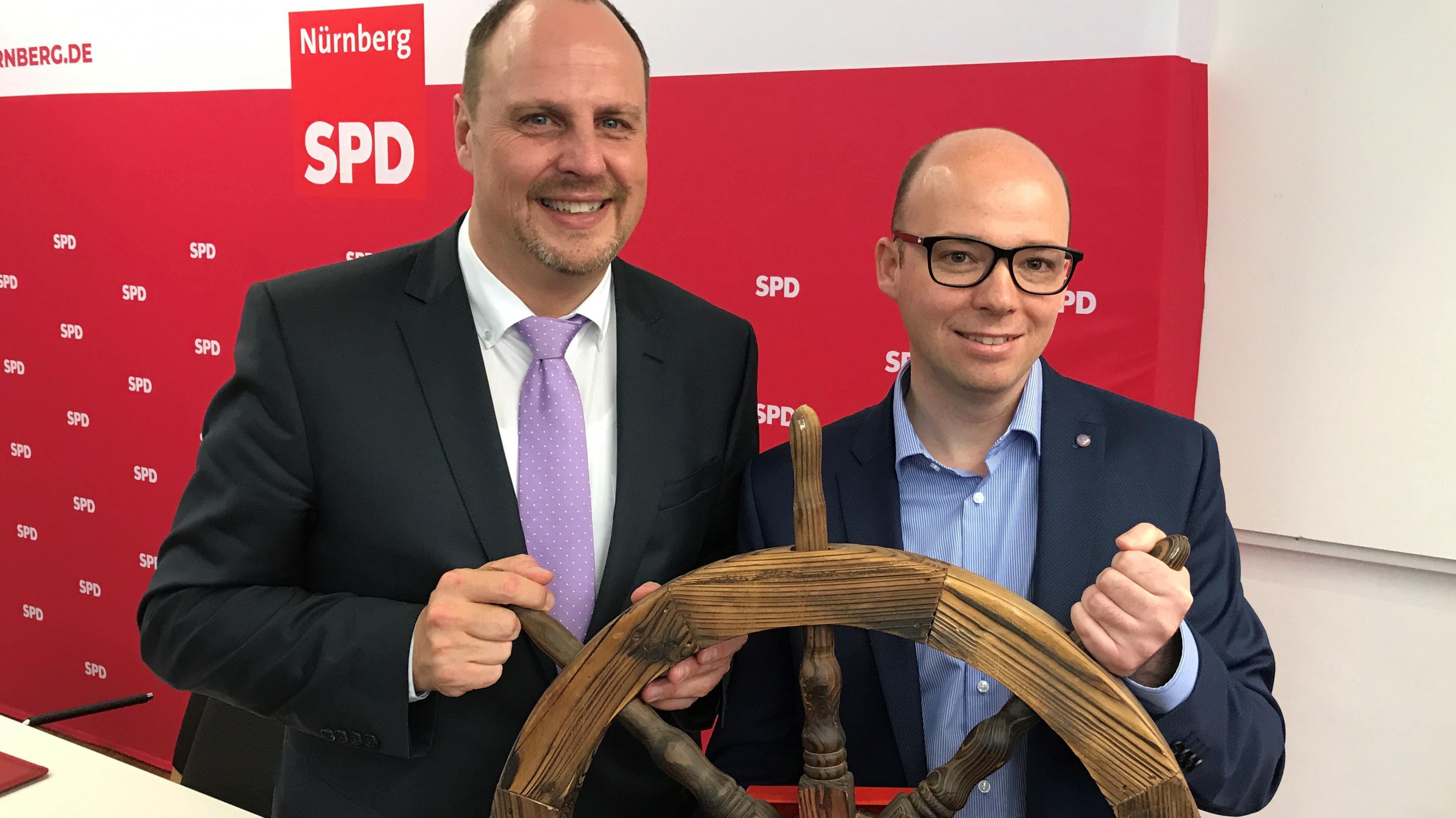 Christian Vogel (links) und Thorsten Brehm
