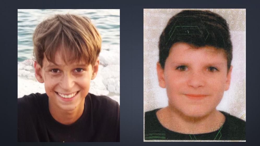 Martin Mändl, (links) und Leon Bitiq (rechts) | Bild:privat via Polizeipräsidium Oberbayern / Montage BR