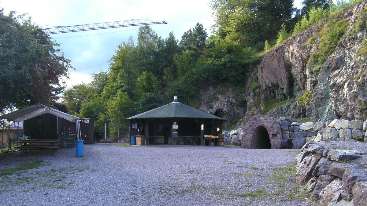 Kupferbergwerk Wilhelmine bei Sommerkahl