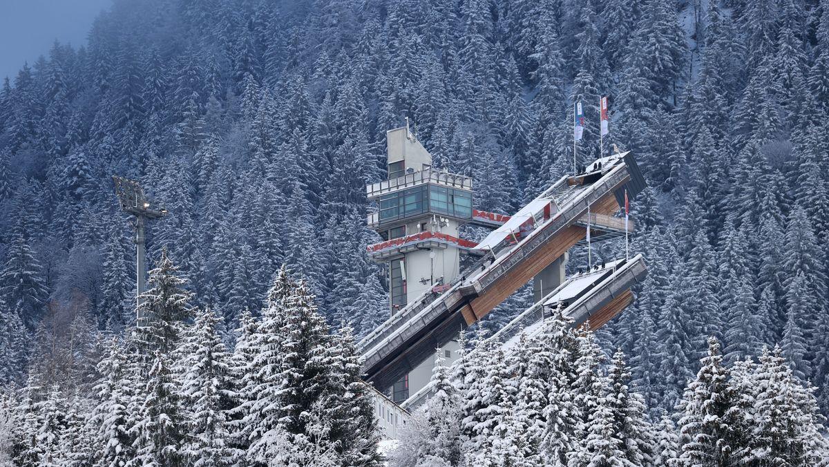 Skisprungturm in Oberstdorf