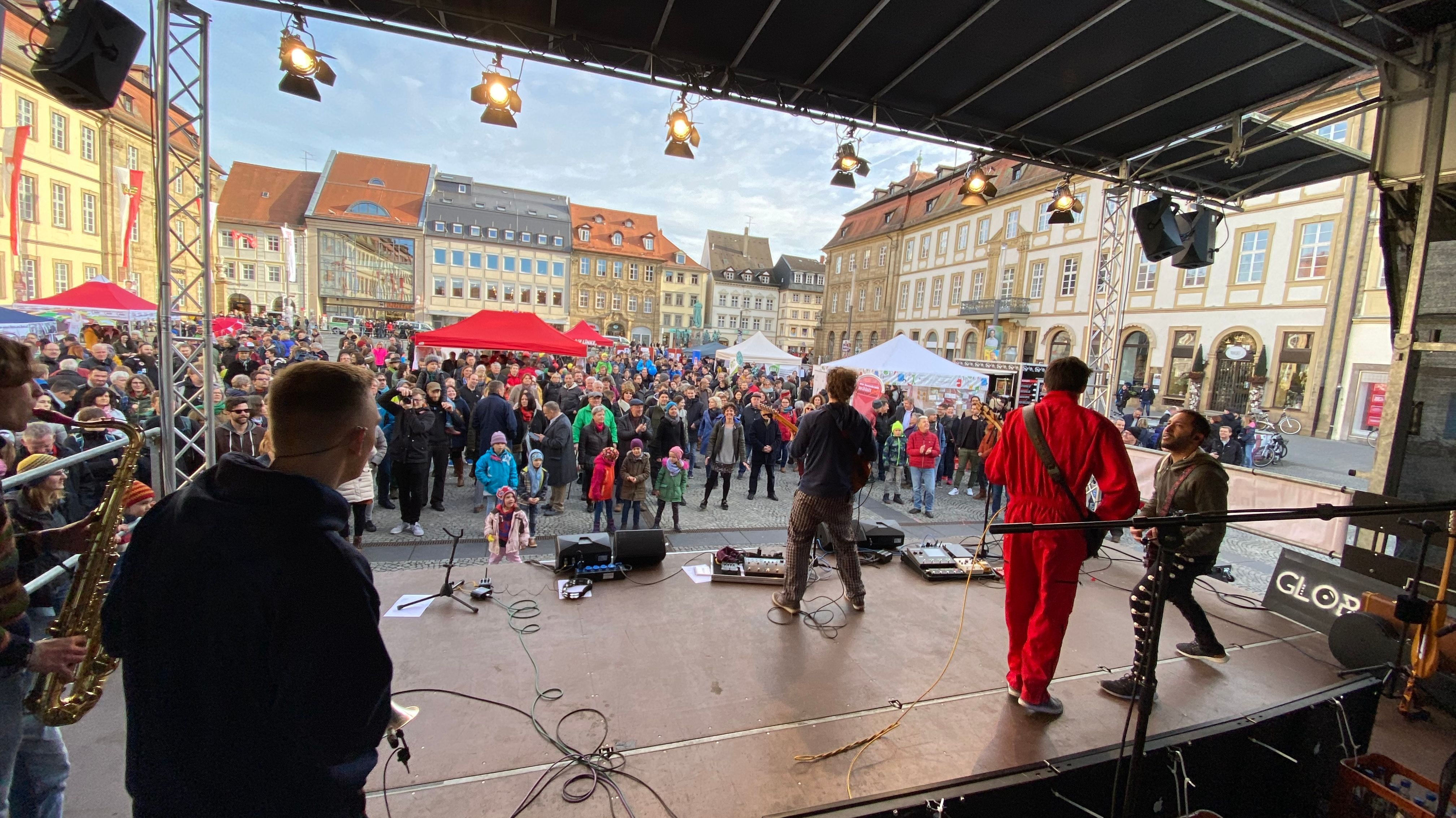 """Fest der Demokratie"" in Bamberg"