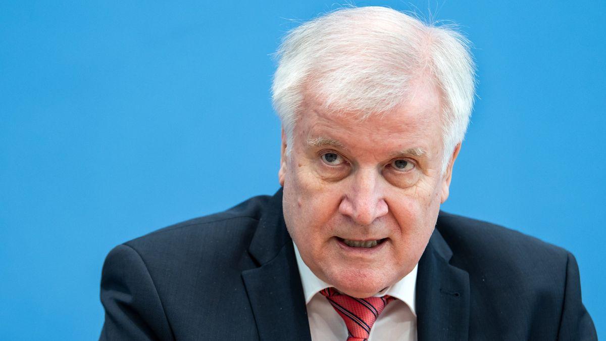 Deutschlands Bundesinnenminister Horst Seehofer