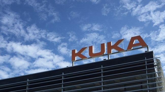 Gebäude des Roboterbauers Kuka in Augsburg
