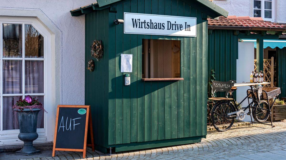 Wirtshaus Drive In beim Kirchenwirt in Anzing (Oberbayern)