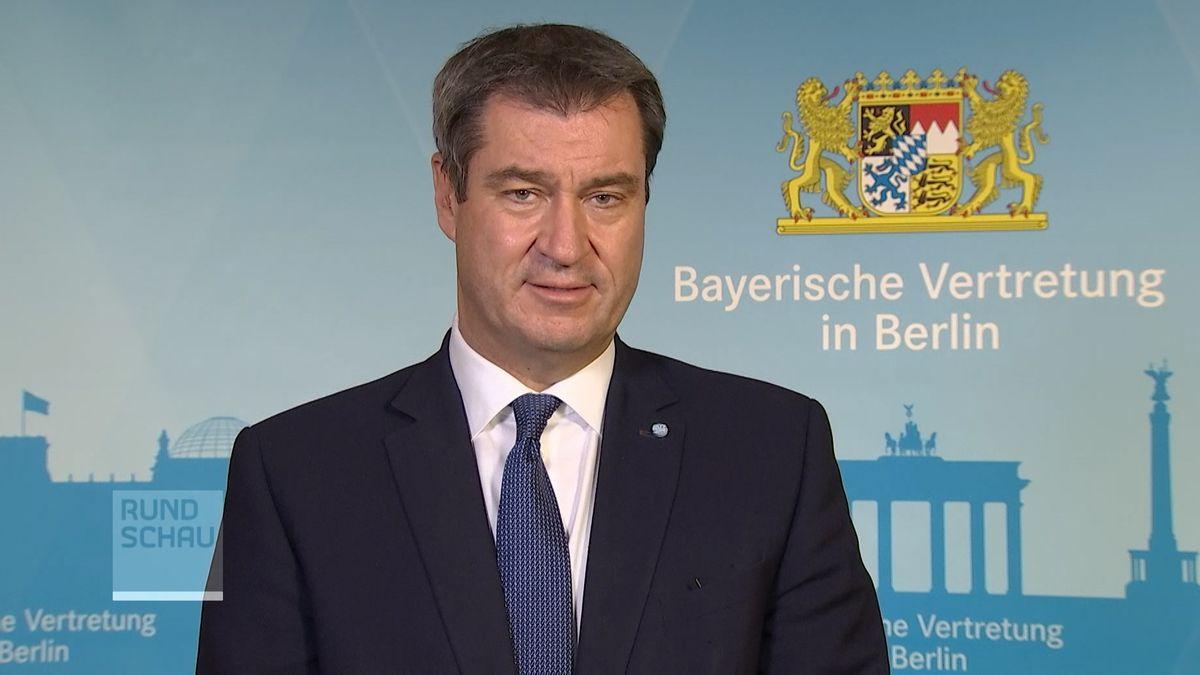 Ministerpräsident Markus Söder im BR-Gespräch