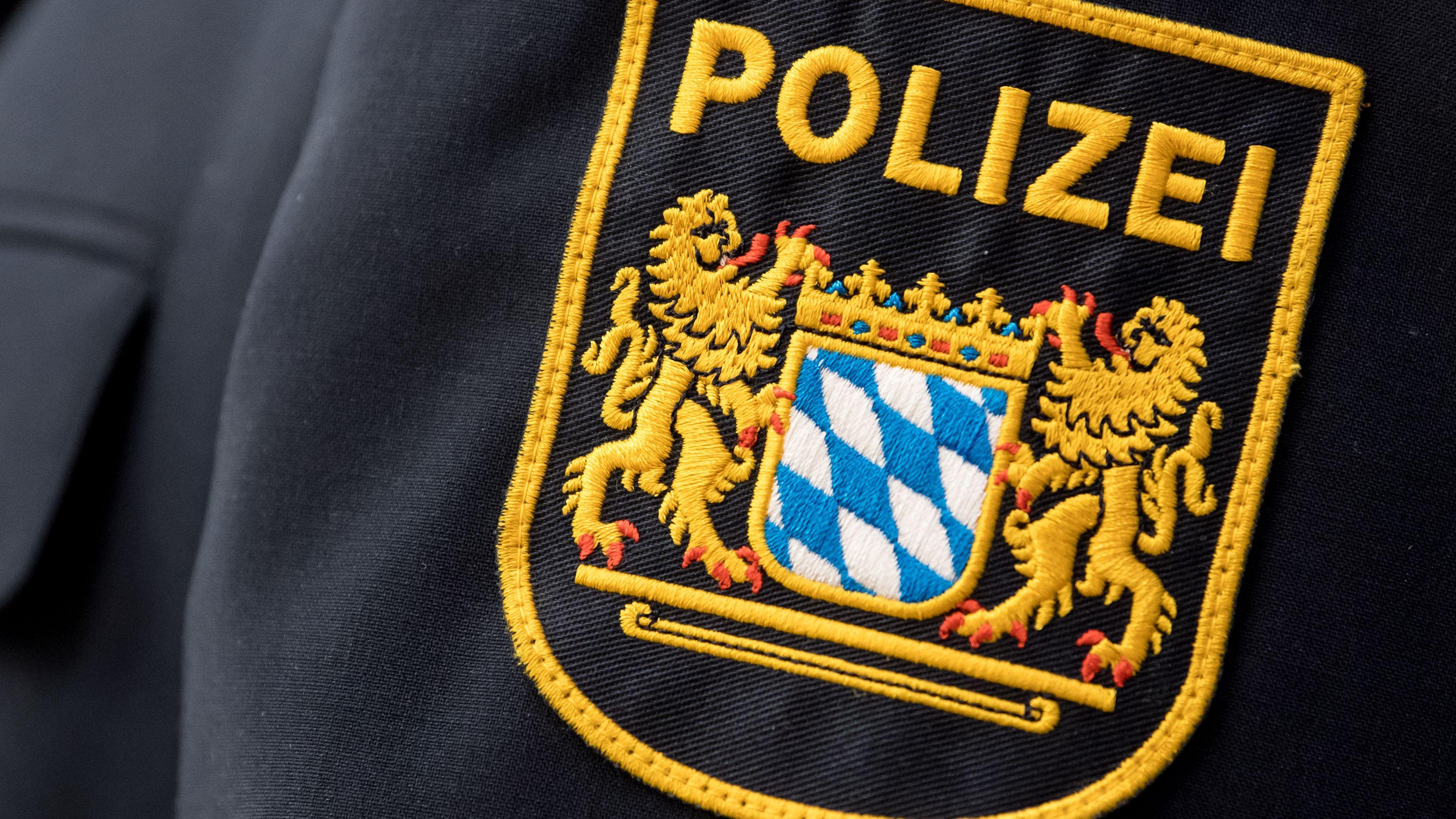 Wappen der bayerischen Polizei (Symbolbild)
