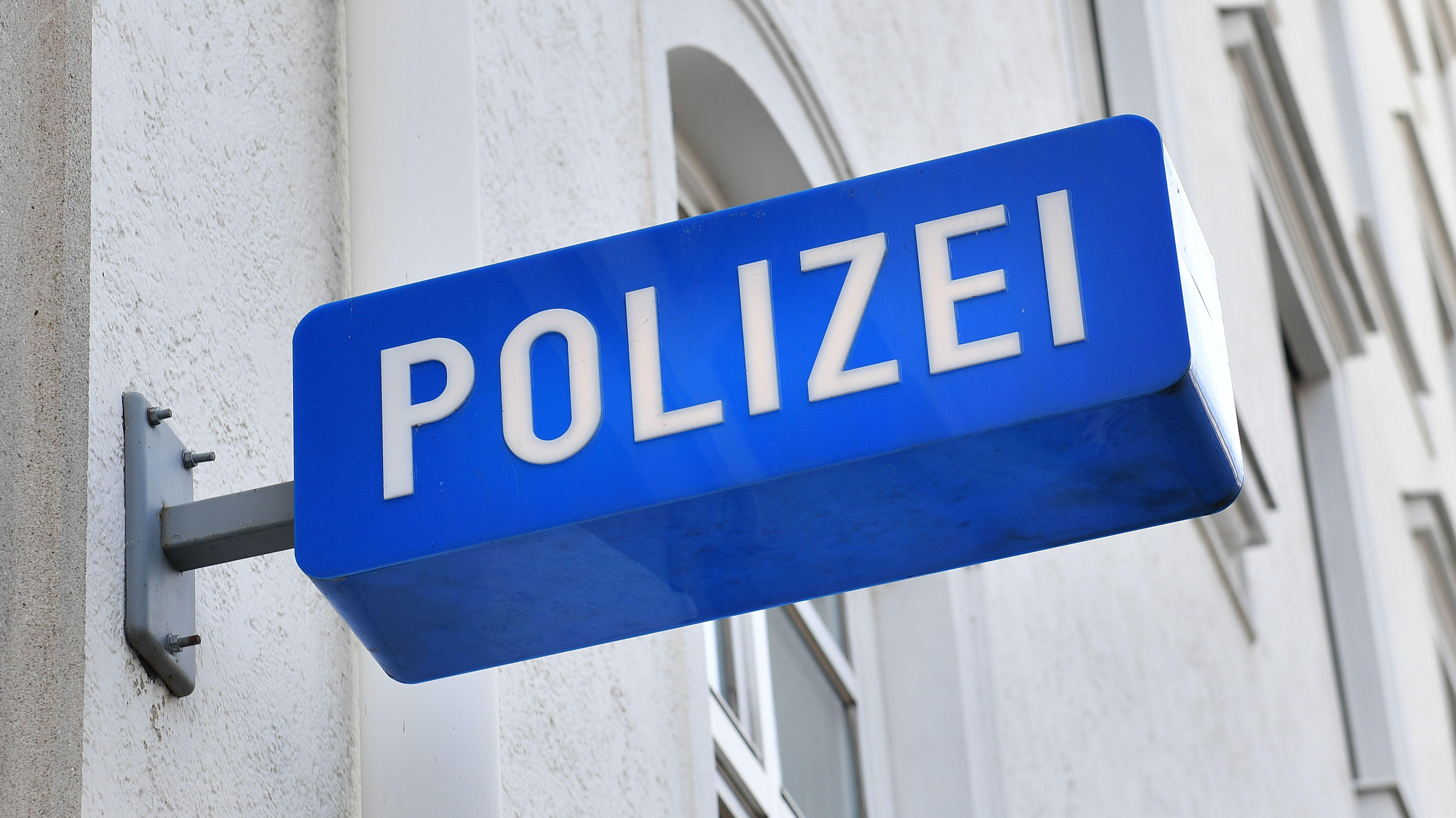 Symbolbild eines Polizei-Schildes