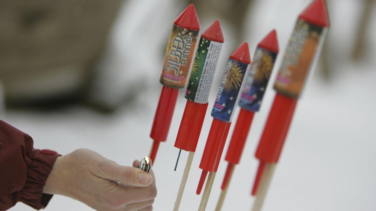 Feuerwerk fällt in manchen schwäbischen Kommunen aus.