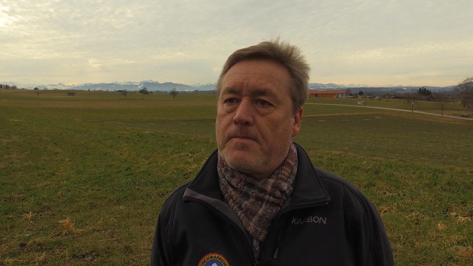 Der Leiter des Lawinenwarndienstes Bayern, Hans Konetschny