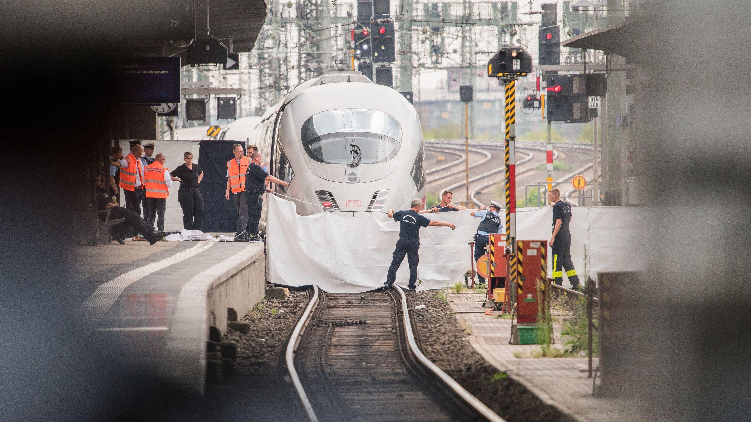 Tatort am Frankfurter Bahnhof