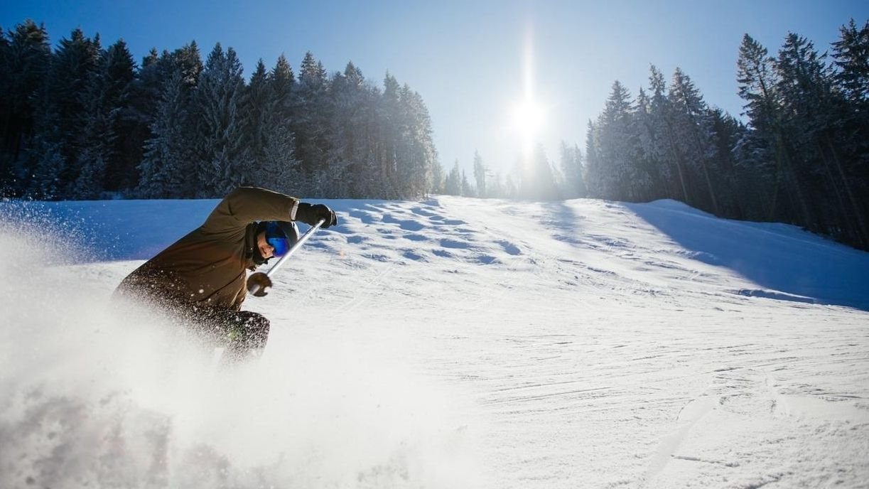 Symbolbild Skifahren