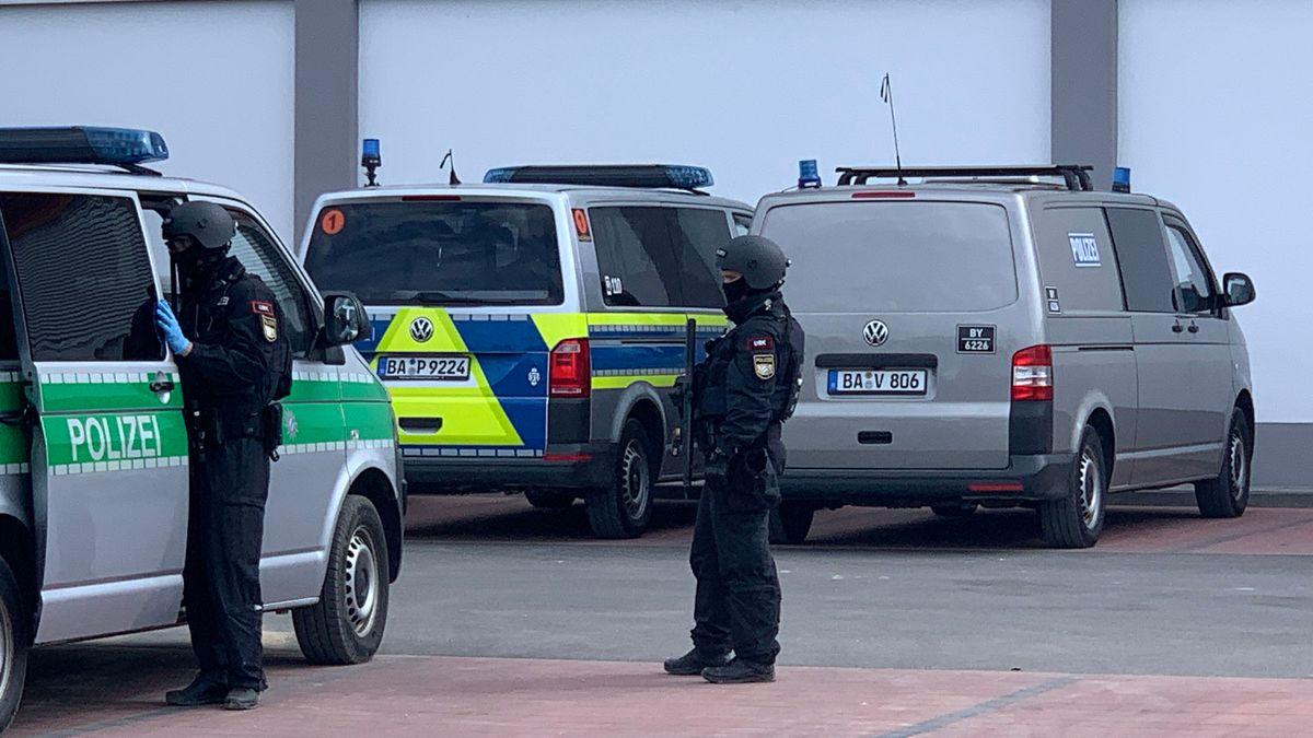 Spezialkräfte der Polizei bereiten sich vor