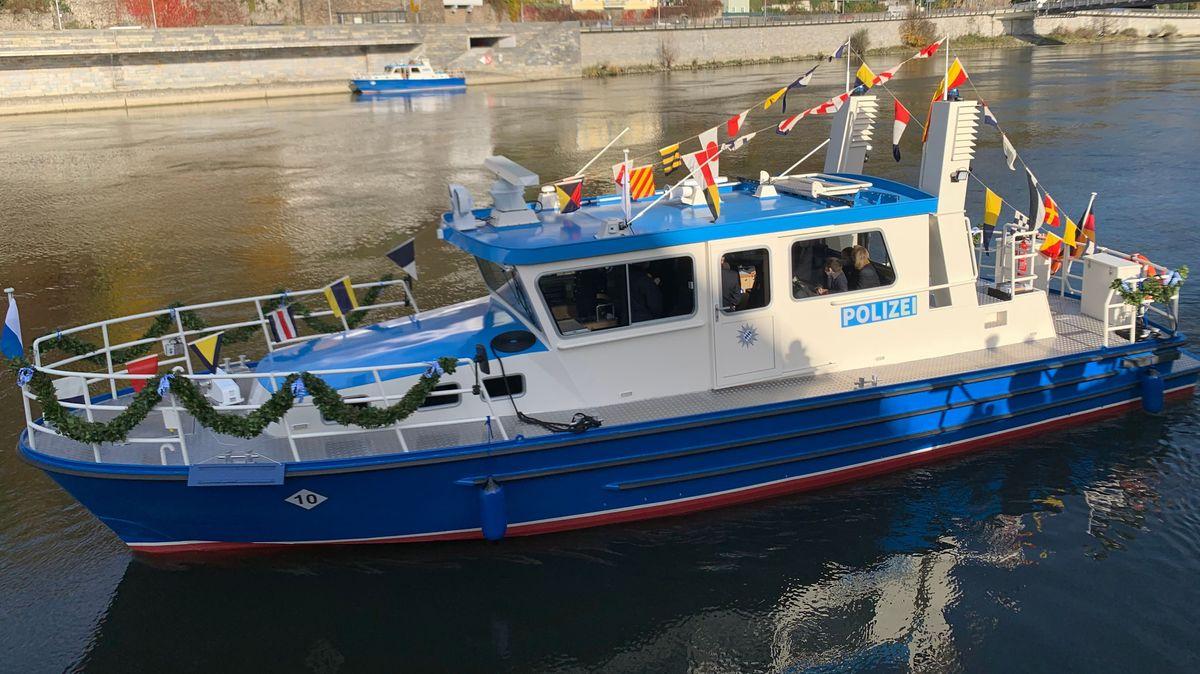 Das neue Boot der Wasserschutzpolizei Passau