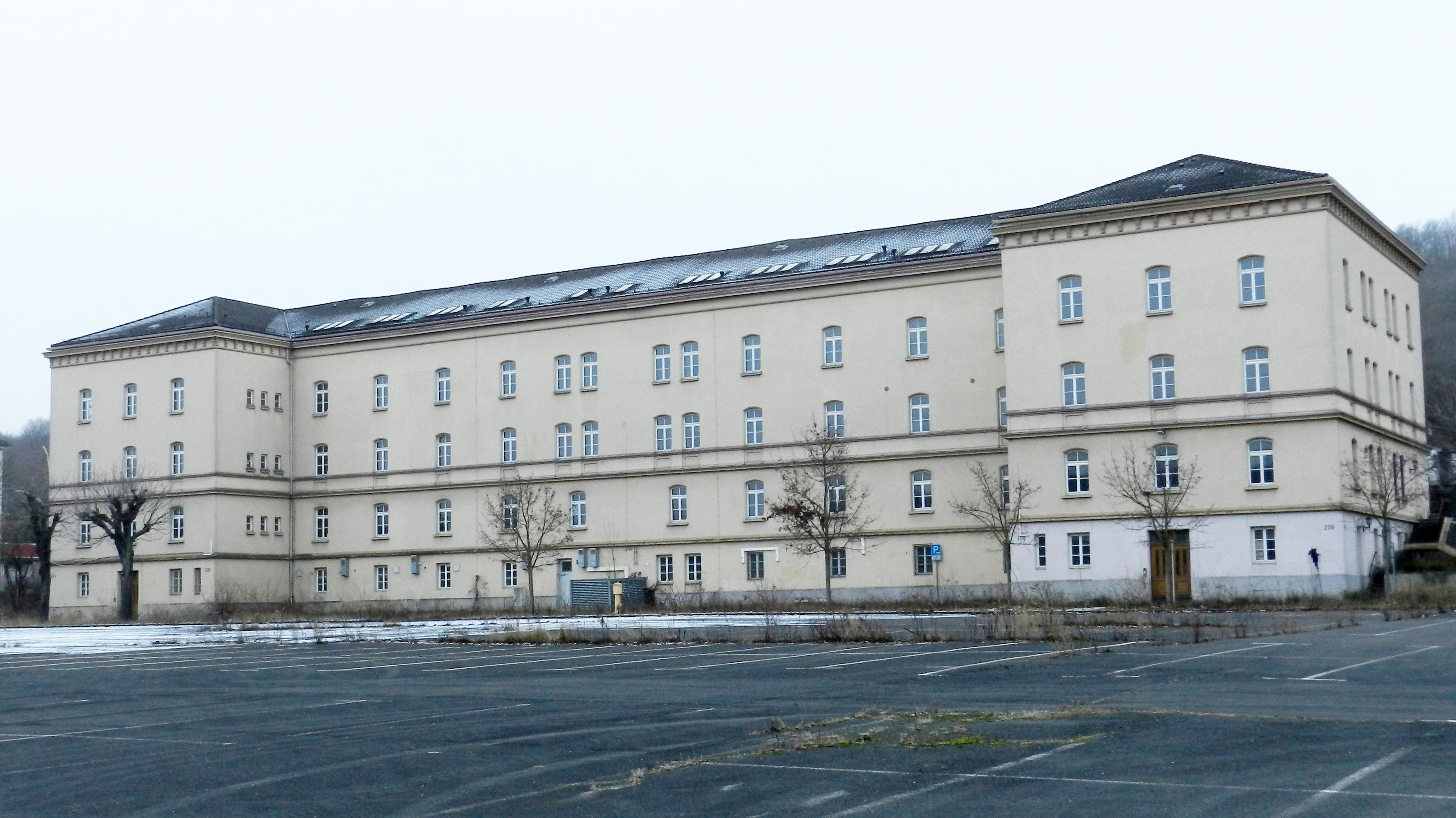 Die ehemalige Faulenberg-Kaserne in Würzburg