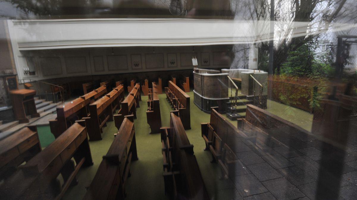 Die Synagoge an der Reichenbachstraße war 1970 das Ziel eines Brandanschlags, der bis heute nicht aufgeklärt werden konnte.