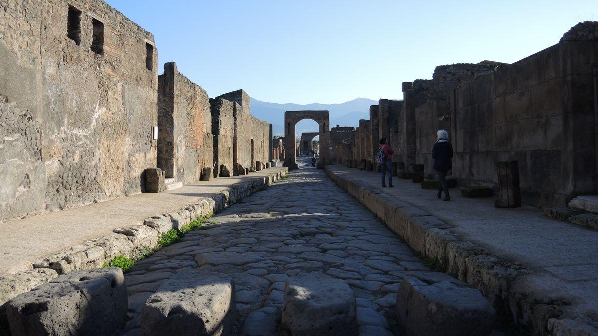 Beeindruckende Überreste der antiken Stadt