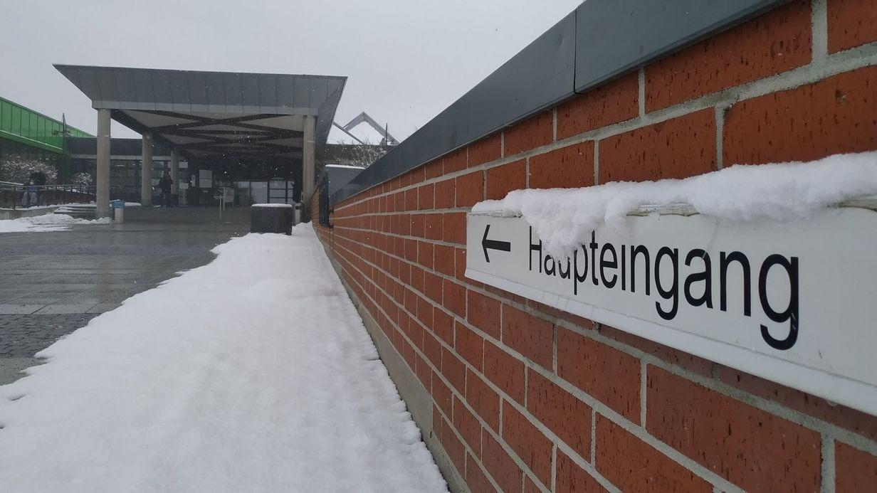 Der Haupteingang des Klinikum Bayreuth