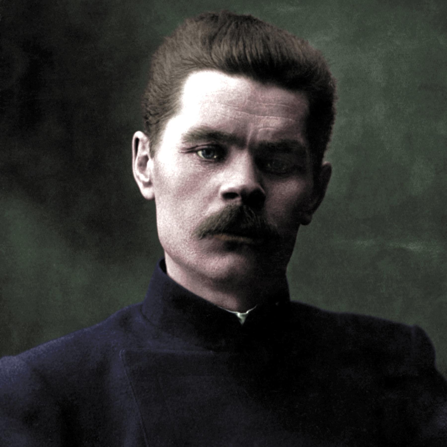 Maxim Gorkij - Nicht im Kopf, sondern im Herzen liegt der Anfang