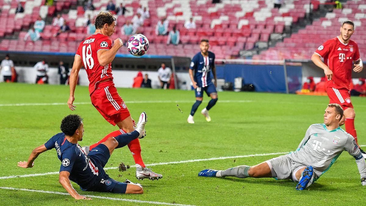 Marquinhos scheitert an Manuel Neuer.